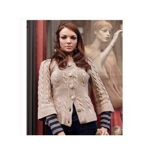 Anthropologie Lia Molly Idlewood Cardigan Knit l
